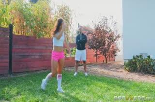 Тренер загонял Alina Lopez и трахнул ее после занятий